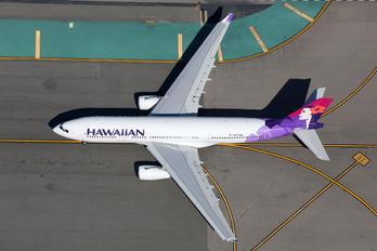 N375HA - Hawaiian Airlines Airbus A330-200