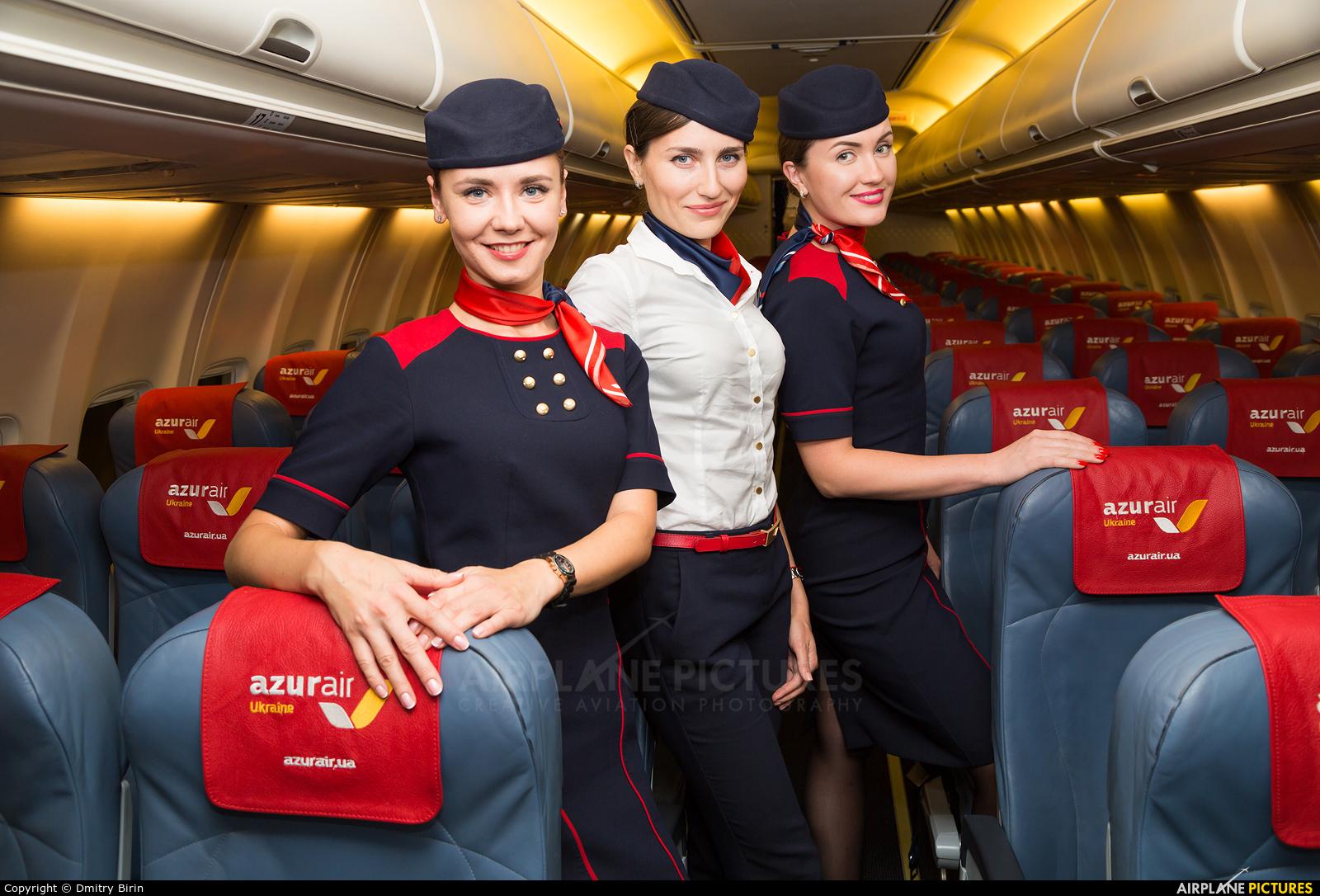 Azur Air Ukraine - aircraft at Kiev - Borispol