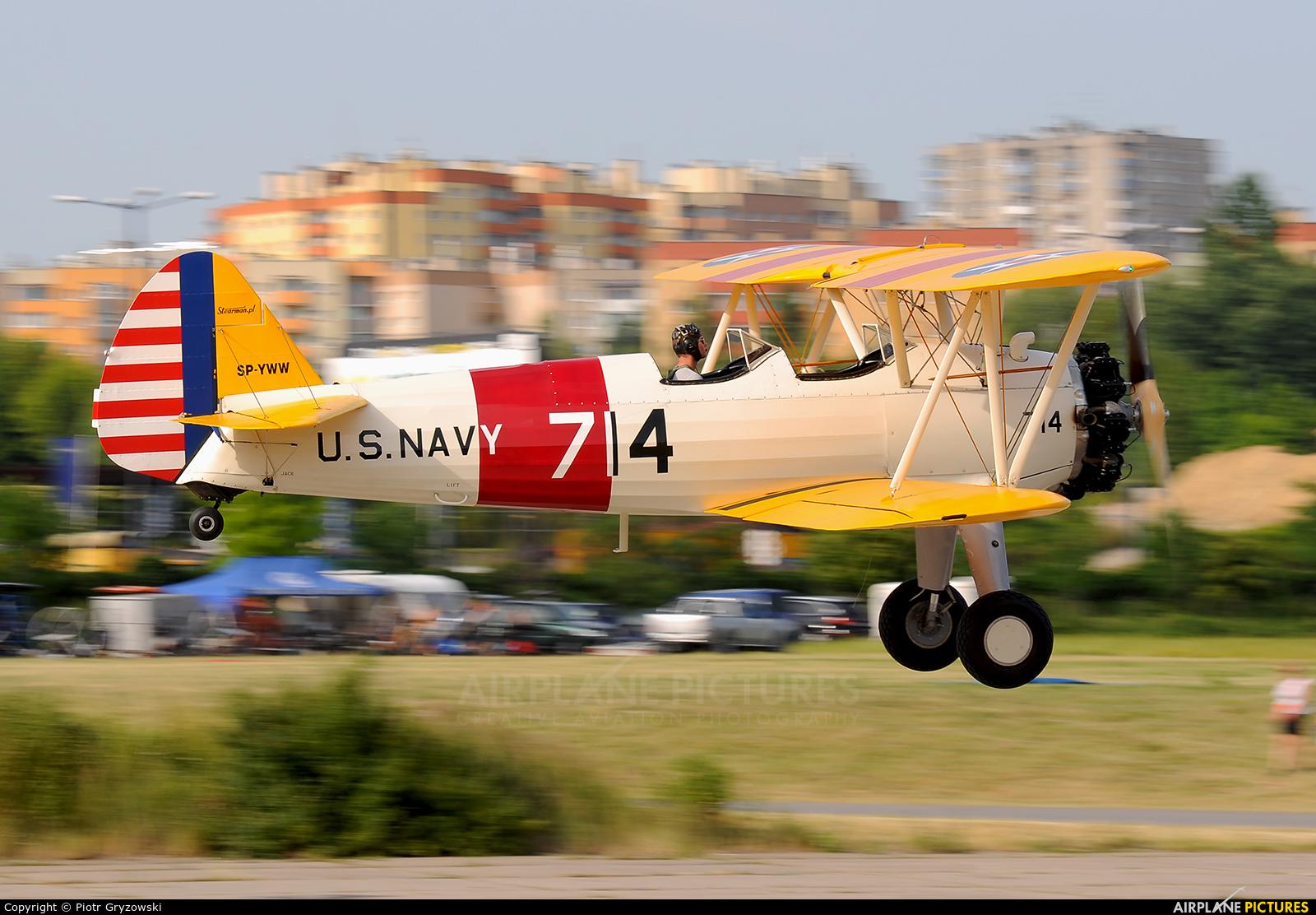 Private SP-YWW aircraft at Kraków, Rakowice Czyżyny - Museum of Polish Aviation