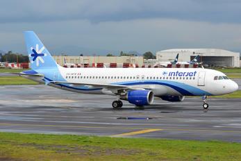 XA-MYR - Interjet Airbus A320