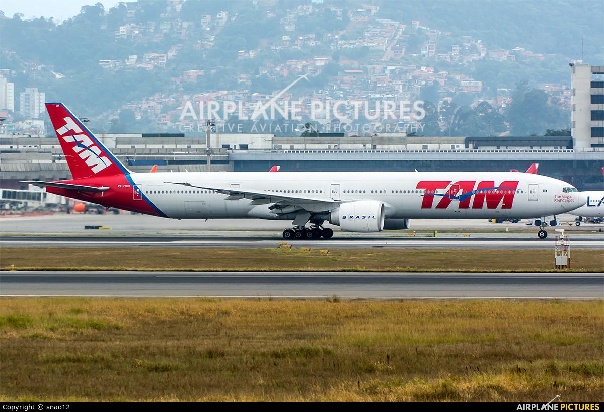 TAM PT-MUH aircraft at São Paulo - Guarulhos