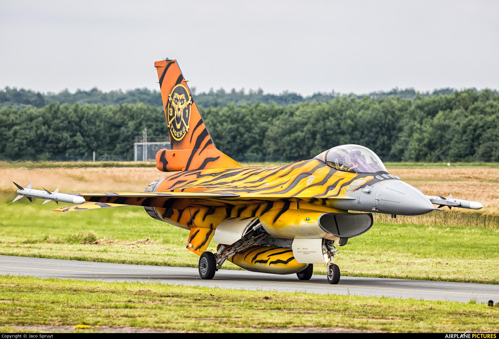 Belgium - Air Force FA-77 aircraft at Florennes