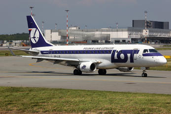 SP-LIB - LOT - Polish Airlines Embraer ERJ-175 (170-200)