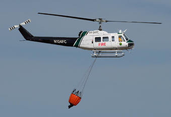 N124FC - USA - Dept. of Agriculture / US Forest Service Bell UH-1H Iroquois