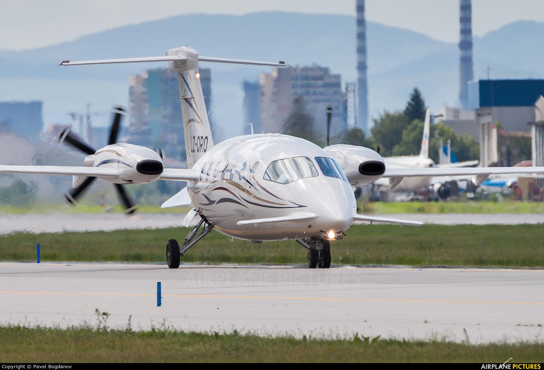 Private LZ-ORO aircraft at Sofia