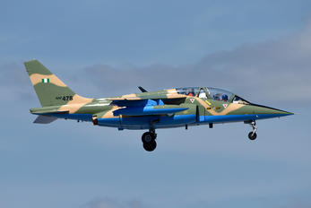 NAF478 - Nigeria - Air Force Dassault - Dornier Alpha Jet A