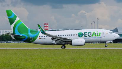OO-JJI - EC Air - Equatorial Congo Airlines Boeing 737-700