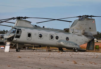 N574AW - USA - Dept. of State Boeing CH-46E Sea Knight