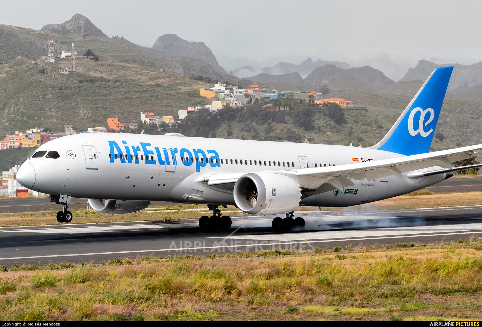 Air Europa EC-MIG aircraft at Tenerife Norte - Los Rodeos