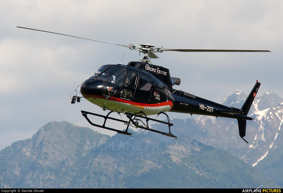 Eliticino HB-ZGT aircraft at Locarno