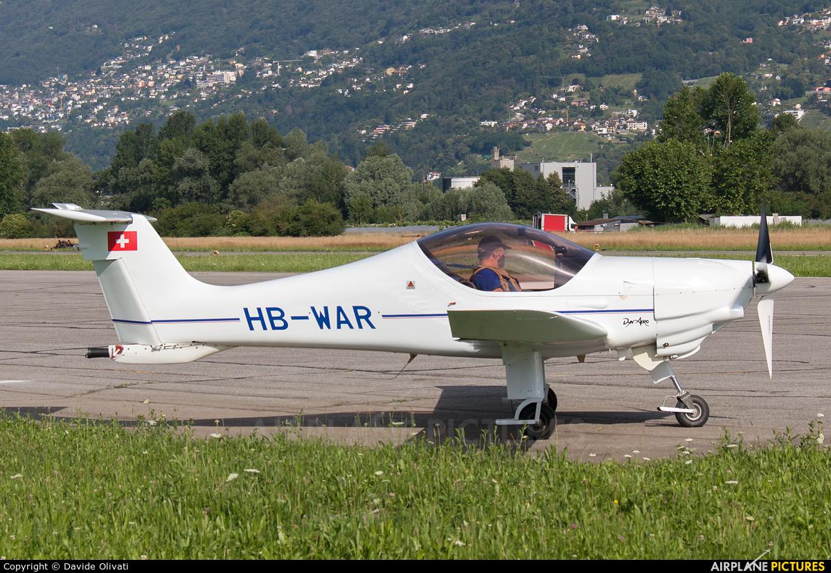 Private HB-WAR aircraft at Locarno