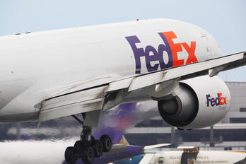 N858FD - FedEx Federal Express Boeing 777F