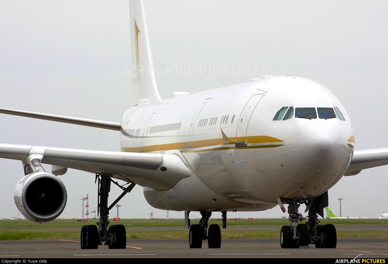 Alpha Star HZ-SKY1 aircraft at Tokyo - Haneda Intl