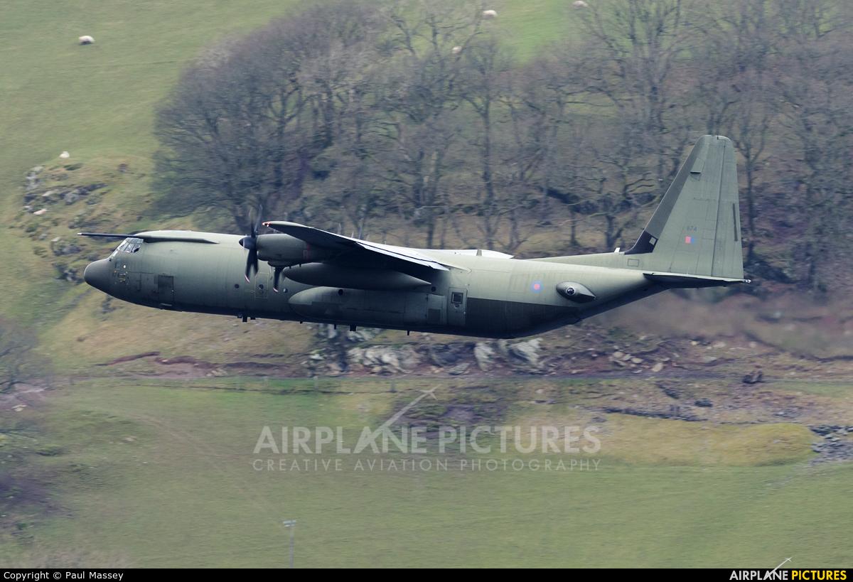 Royal Air Force ZH874 aircraft at Off Airport - Wales