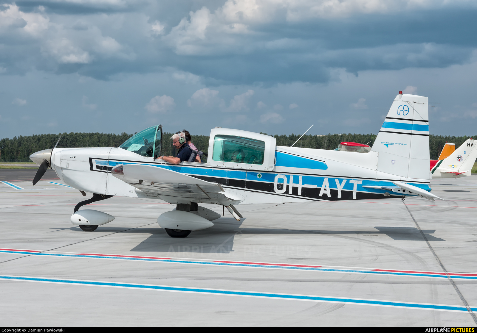 OH-AYT - Private Grumman American AA-5B Tiger at Bydgoszcz