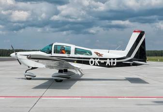 OK-AIJ - Private Grumman American AA-5B Tiger
