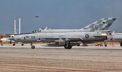 135 - Croatia - Air Force Mikoyan-Gurevich MiG-21bisD