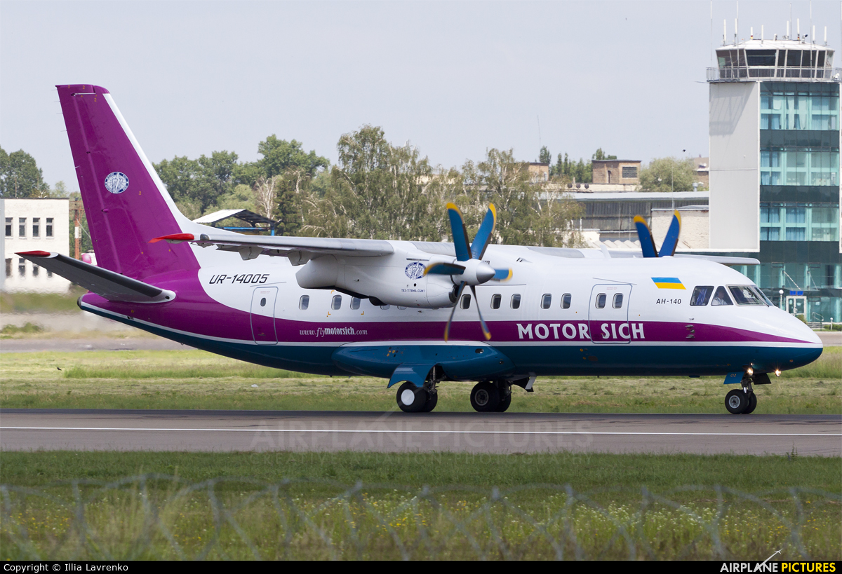 Motor Sich UR-14005 aircraft at Kiev - Zhulyany