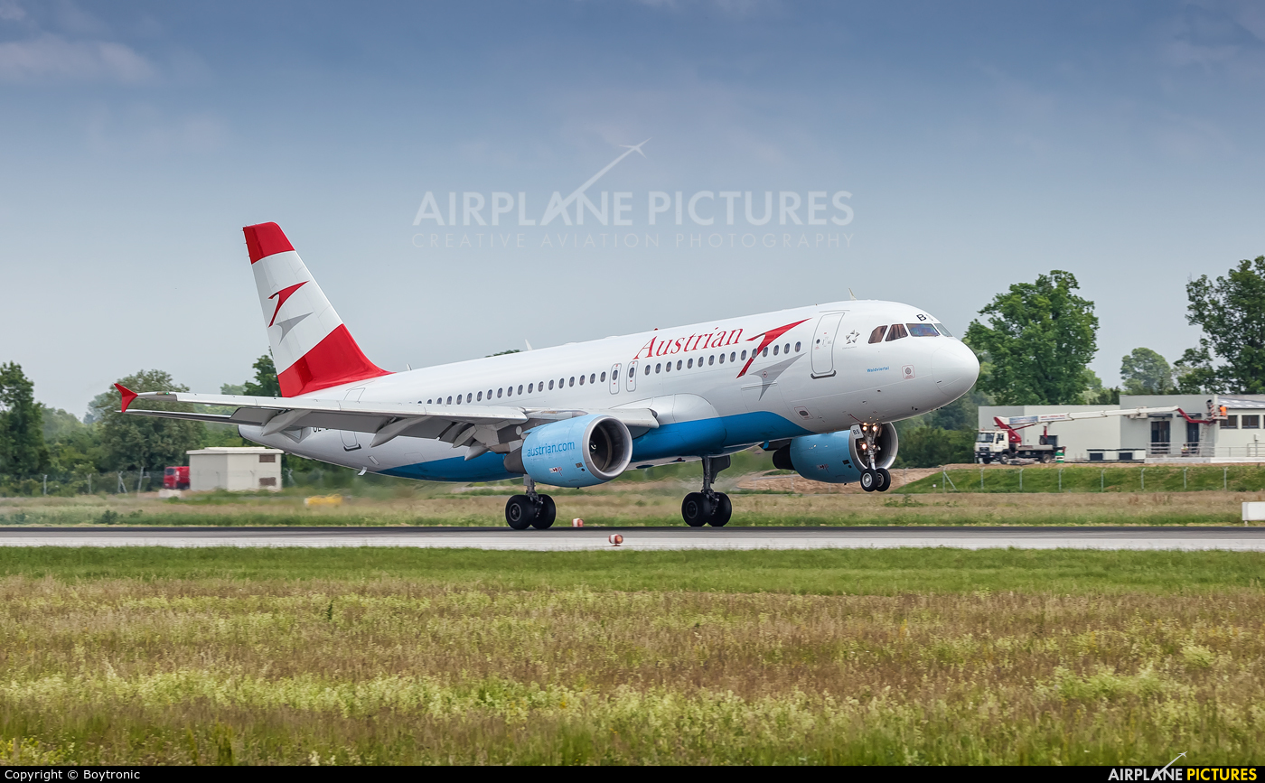 Austrian Airlines/Arrows/Tyrolean OE-LBS aircraft at Zagreb