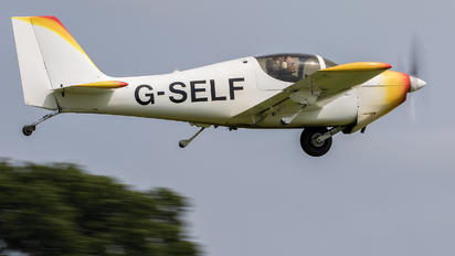 G-SELF - Private Europa Aircraft Europa
