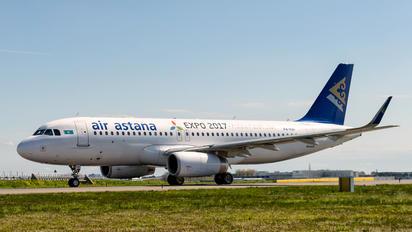 P4-KBF - Air Astana Airbus A320