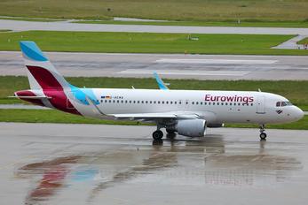 D-AEWA - Eurowings Airbus A320