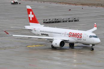 C-GWXZ - Swiss Bombardier BD-500 C Series 100