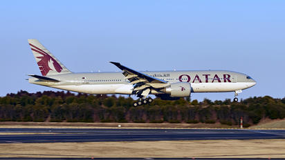 A7-BBC - Qatar Airways Boeing 777-200LR