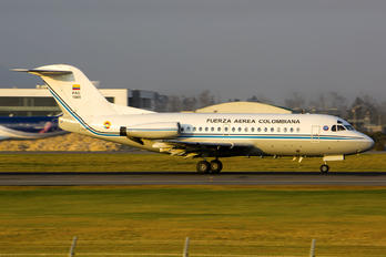 FAC1041 - Colombia - Air Force Fokker F28