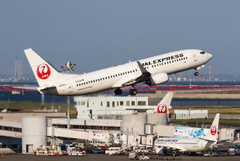 JA342J - JAL - Express Boeing 737-800