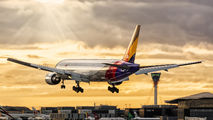 HL7597 - Asiana Airlines Boeing 777-200ER aircraft