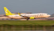 JA801X - Solaseed Air - Skynet Asia Airways Boeing 737-800 aircraft
