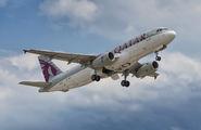 A7-AHJ - Qatar Airways Airbus A320 aircraft