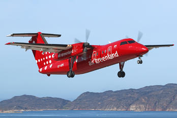 OY-GRK - Air Greenland de Havilland Canada DHC-7-100 series