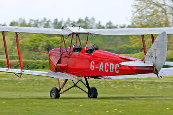 G-ACDC - The Tiger Club de Havilland DH. 82 Tiger Moth