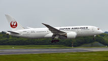 JA829J - JAL - Japan Airlines Boeing 787-8 Dreamliner aircraft