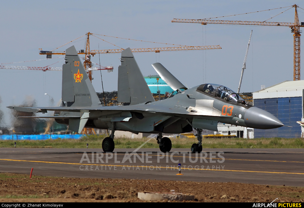 Kazakhstan - Air Force 03 aircraft at Astana