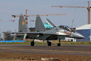 03 - Kazakhstan - Air Force Sukhoi Su-30SM aircraft