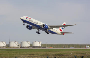 G-VIIN - British Airways Boeing 777-200
