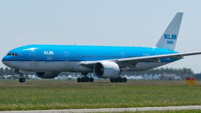 PH-BQI - KLM Asia Boeing 777-200ER