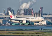 JA707J - JAL - Japan Airlines Boeing 777-200ER aircraft