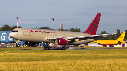 N351AX - Omni Air International Boeing 767-300ER