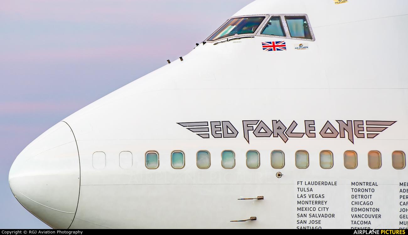 Air Atlanta Icelandic TF-AAK aircraft at Amsterdam - Schiphol
