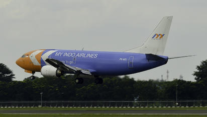 PK-MYI - My Indo Airlines Boeing 737-300F