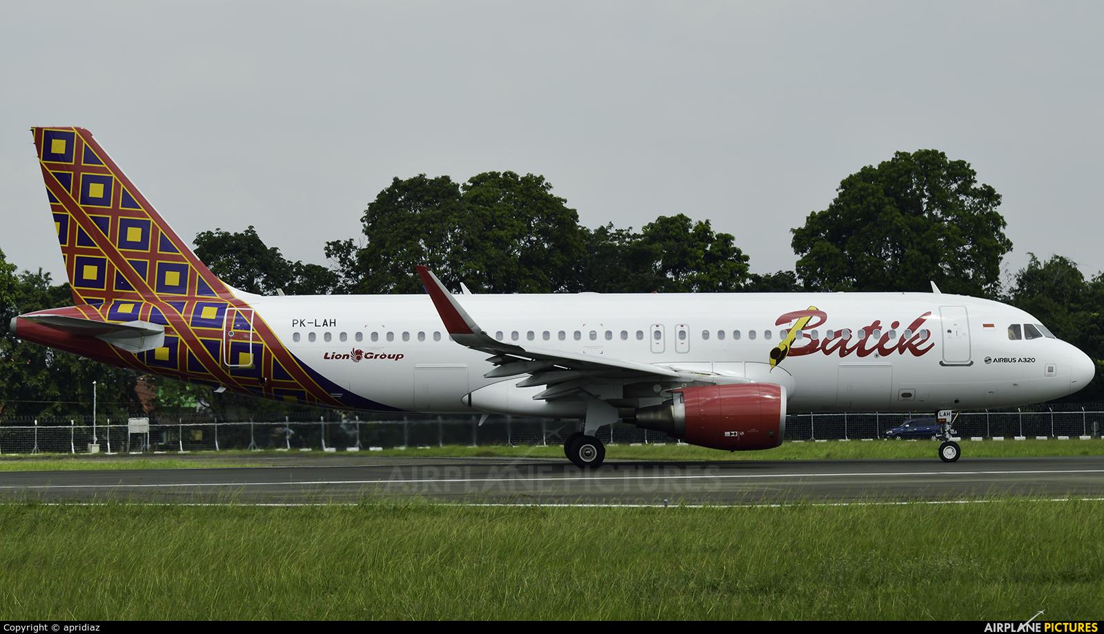 Batik Air PK-LAH aircraft at In Flight - Indonesia