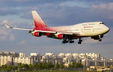 EI-XLF - Rossiya Boeing 747-400
