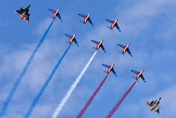 """F-TERP - France - Air Force """"Patrouille de France"""" Dassault - Dornier Alpha Jet E"""