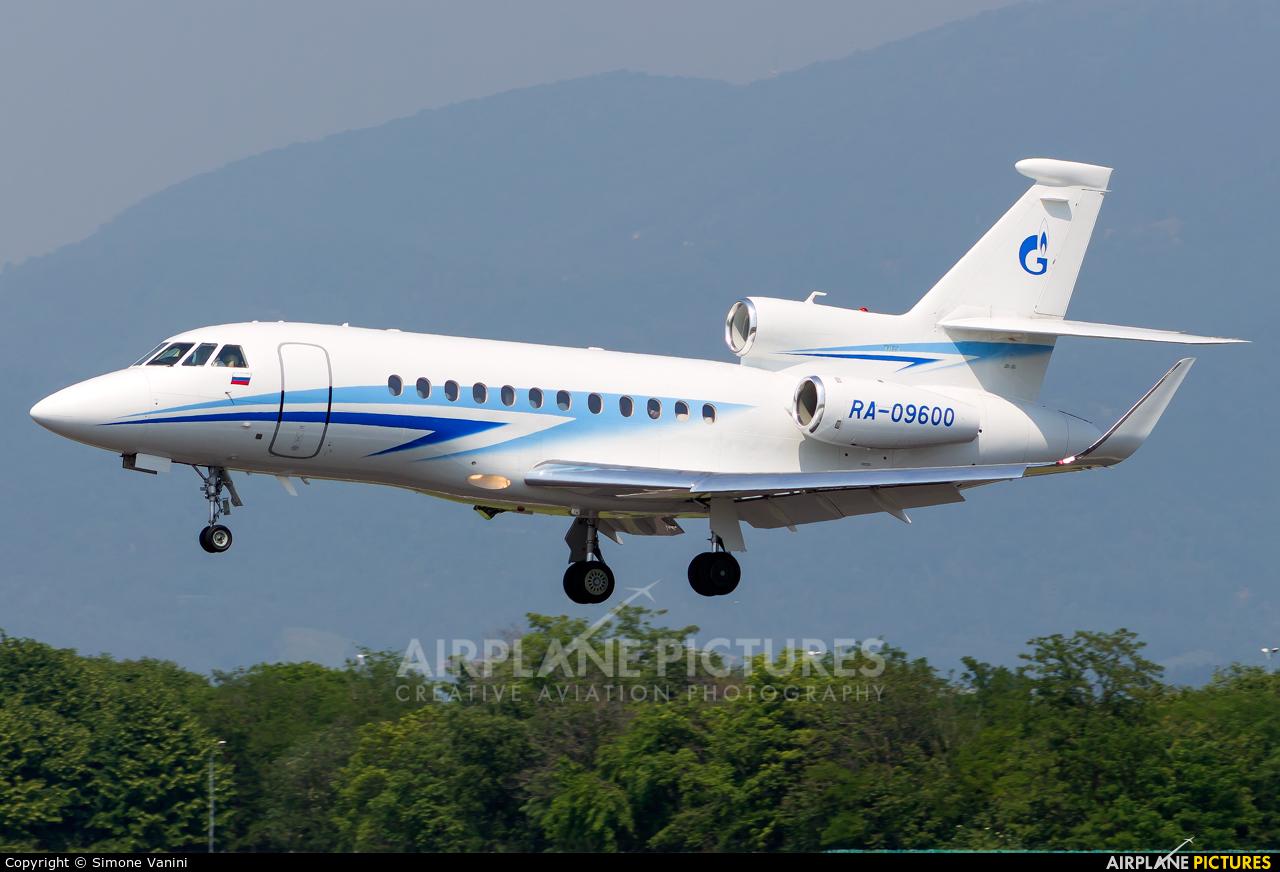 Gazpromavia RA-09600 aircraft at Bergamo - Orio al Serio
