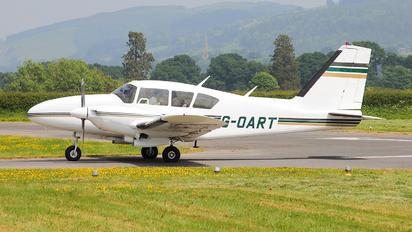 G-OART - Private Piper PA-23 Aztec
