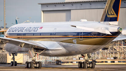 F-WZGN - Singapore Airlines Airbus A350-900